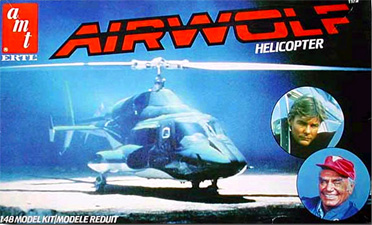 AMT Airwolf Box Art