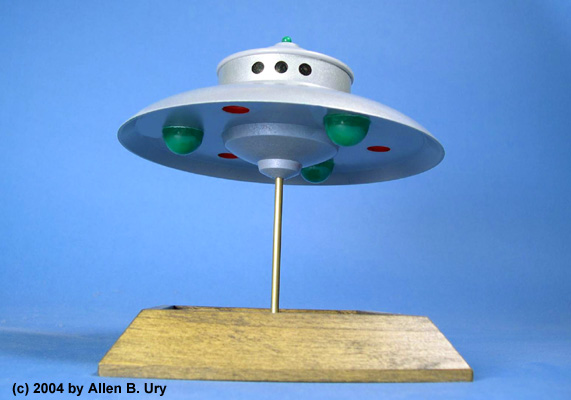 Admaski Flying Saucer- 1