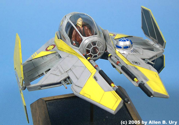 Anakin S Jedi Starfighter By Revell Of Germany