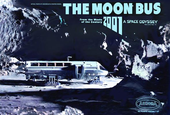 Moon Bus Aurora Box Art