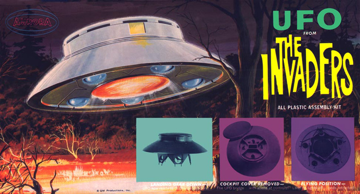 Invaders UFO Box Art