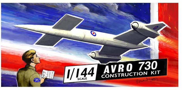 Avro 730 Sharkit Box Art