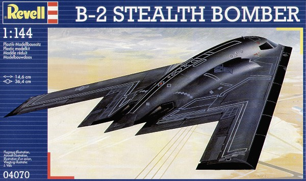 EXTREMELY CLASSIFIED!!!! B-2StealthBomberRevellBoxArt