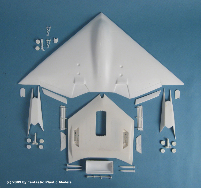 B-3 Bomber Model Kit - What You Get