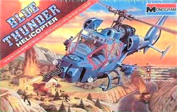 Blue Thunder - Monogram - Box Art