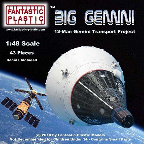 Big Gemini Fantastic Plastic Models