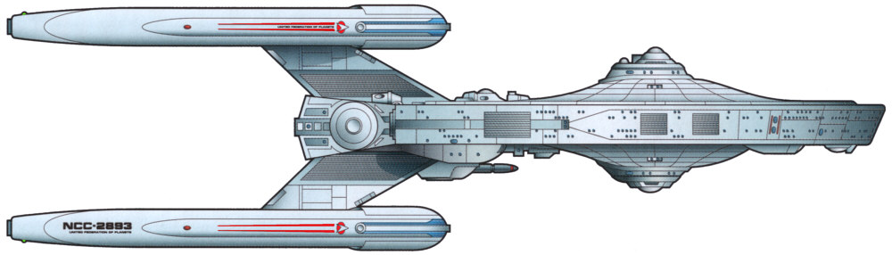 Constellation Class Starship By Rm Models
