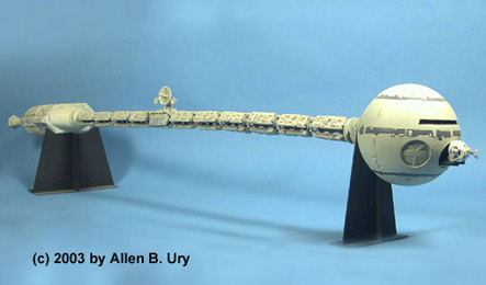 2001 Space Odyssey Discovery Model Ship - Pics about space