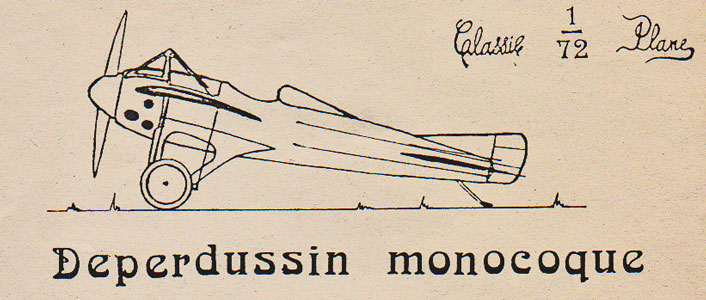 Deperdussin Monocoque by Classic 172 Plane