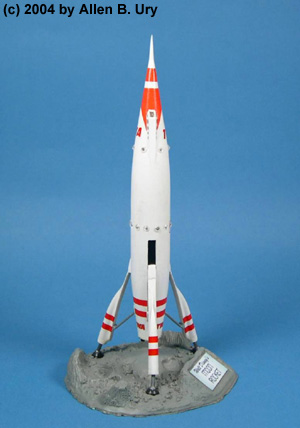 Disneyland Rocket-to-the-Moon - Strombecker - 2