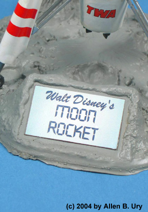 Disneyland Rocket-to-the-Moon - Strombecker - 3