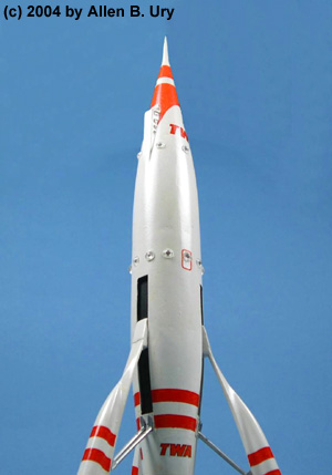 Disneyland Rocket-to-the-Moon - Strombecker - 5