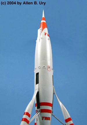 Disney Moon Rocket Glencoe Mars Liner