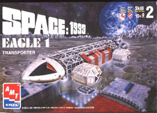 Eagle Transporter - AMT Box Art