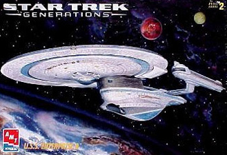 U.S.S. Enterprise B Box Art