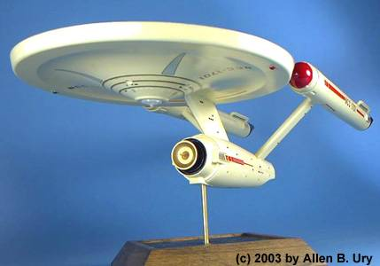 "AMT/Ertl ""U.S.S. Enterprise"" from ""Star Trek"" (1966-69)"