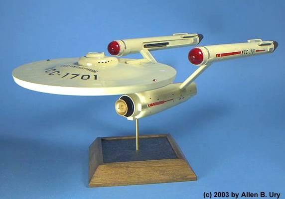 U S S  Enterprise 1:650 Model Kit by AMT