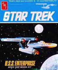 AMT U.S.S. Enterprise Box Art
