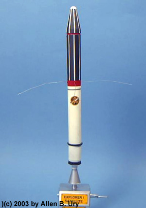 Explorer 1 Satellite By Itc