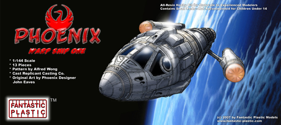 Phoenix Warp Ship - Box Art