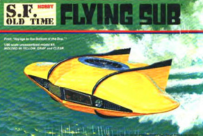 Aurora Flying Sub Box Art