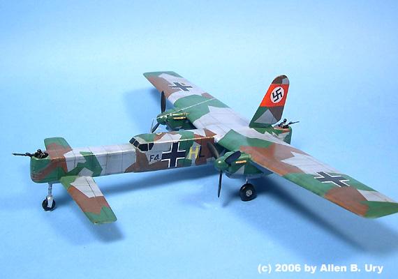 Focke Wulf F W 42 Heavy Bomber By Unicraft