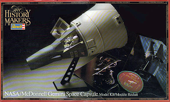 Gemini Spacecraft by Revell - Box Art