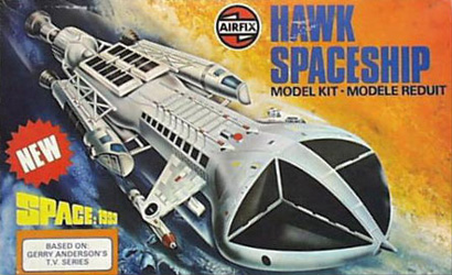 Airfix Hawk Spaceship Box Art