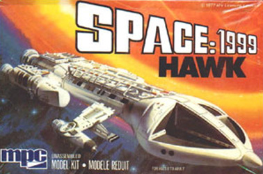 MPC Hawk Spaceship Box Art