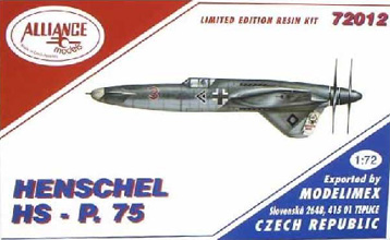 Alliance Henschel HS-P75 Box Art