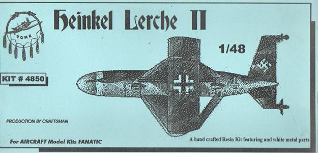 Heinkel Lerche Ii By Pend