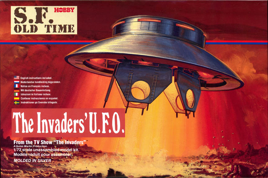 Invaders UFO Box Art - Tsukuda