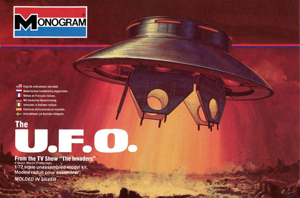 Invaders UFO Box Art - Monogram