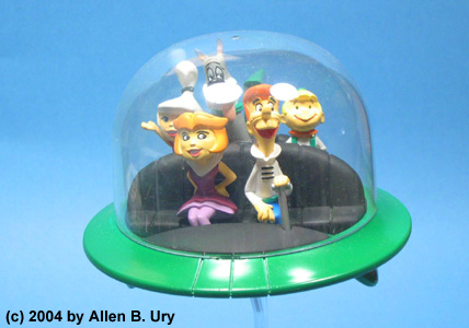 Jetsons Air Car - Polar Lights - 3