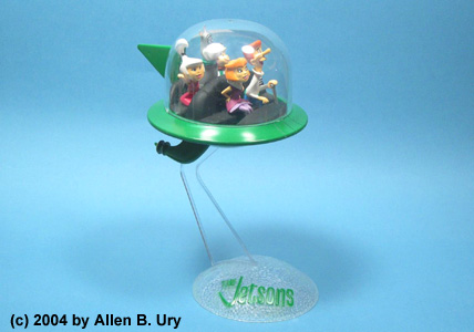 Jetsons Air Car - Polar Lights - 2
