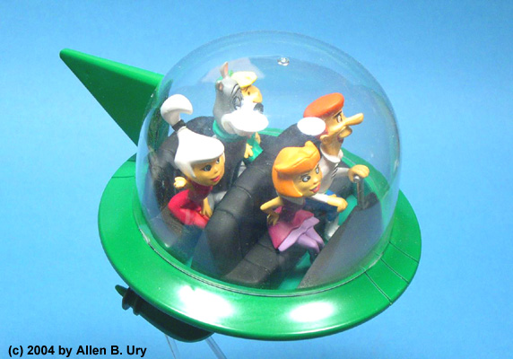 Jetsons Air Car - Polar Lights - 1