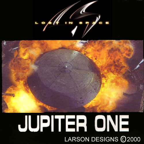 Jupiter One - Lost in Space - Larson Designs Bag Art