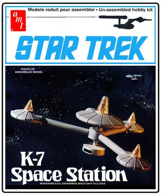AMT Space Station K-7 Box Art