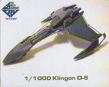 Klingon D-5 by The Delta Quadrant