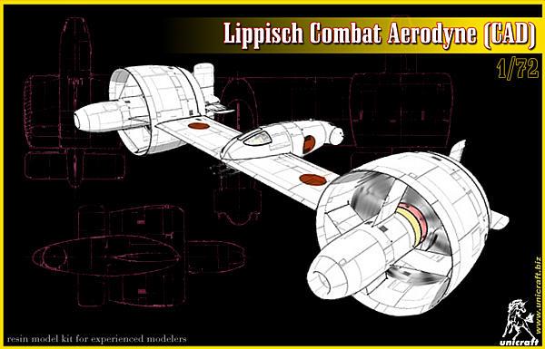 lippisch combat aerodyne by unicraft
