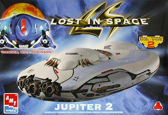 Jupiter 2 Model Kit Box Art