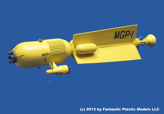 Mars Gravity Probe 1 - Fantastic Plastic Models - 1