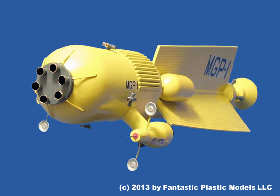 Mars Gravity Probe 1 - Fantastic Plastic Models - 5