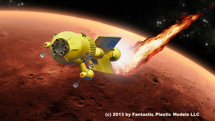 Mars Gravity Probe One and Meteor