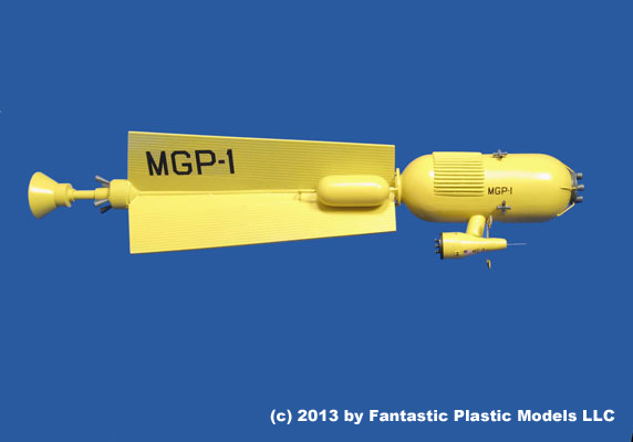 Mars Gravity Probe 1 - Fantastic Plastic Models - 4