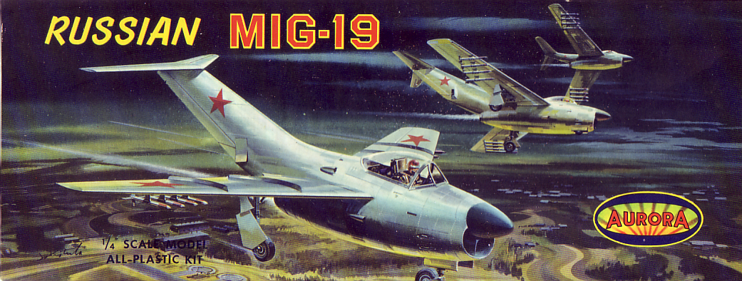 Aurora Mig 19 Model Kit By Aurora