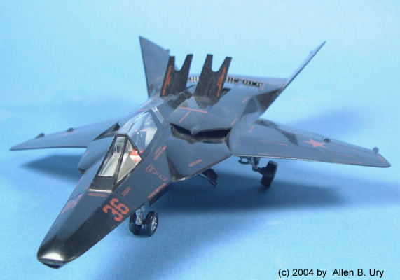 MiG 37-B Ferret Stealth Fighter - Testors -1