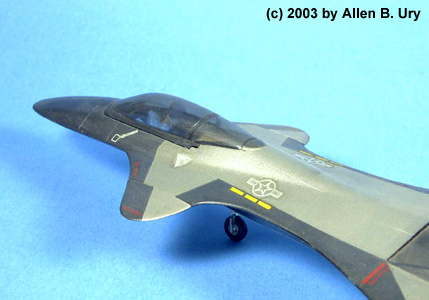 Monogram F-19 Stealth Fighter - 5