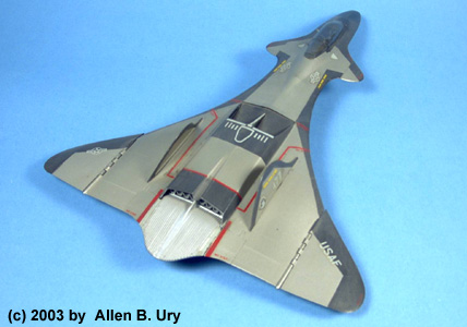 Monogram F-19 Stealth Fighter - 4