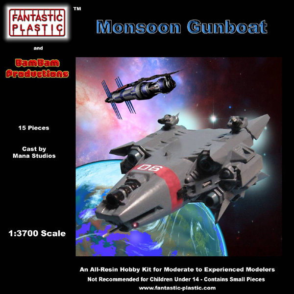 Monsoon Gunboat - Box Art